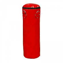 Боксерська груша для боксу (боксерський мішок) ПВХ OSPORT Lite 1м (OF-0050) Червона
