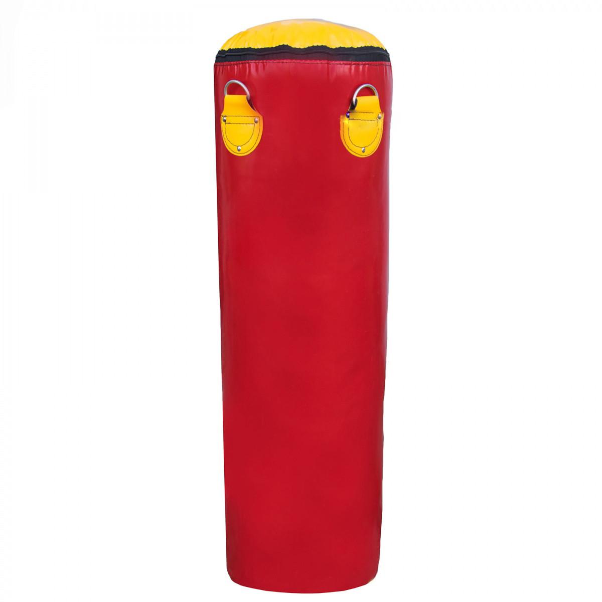 Боксерська груша для боксу (боксерський мішок) ПВХ OSPORT Lite 1.2 м (OF-0051) Червона