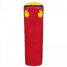Боксерська груша для боксу (боксерський мішок) ПВХ OSPORT Lite 1.8 м (OF-0053) Червона