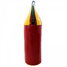 Боксерська груша для боксу дитяча шоломоподібна ПВХ OSPORT Lite 95см (OF-0056) Червона