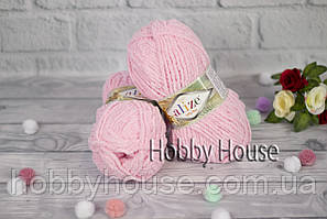 Alize «Softy Plus/Софти плюс»Светло-розовый №185