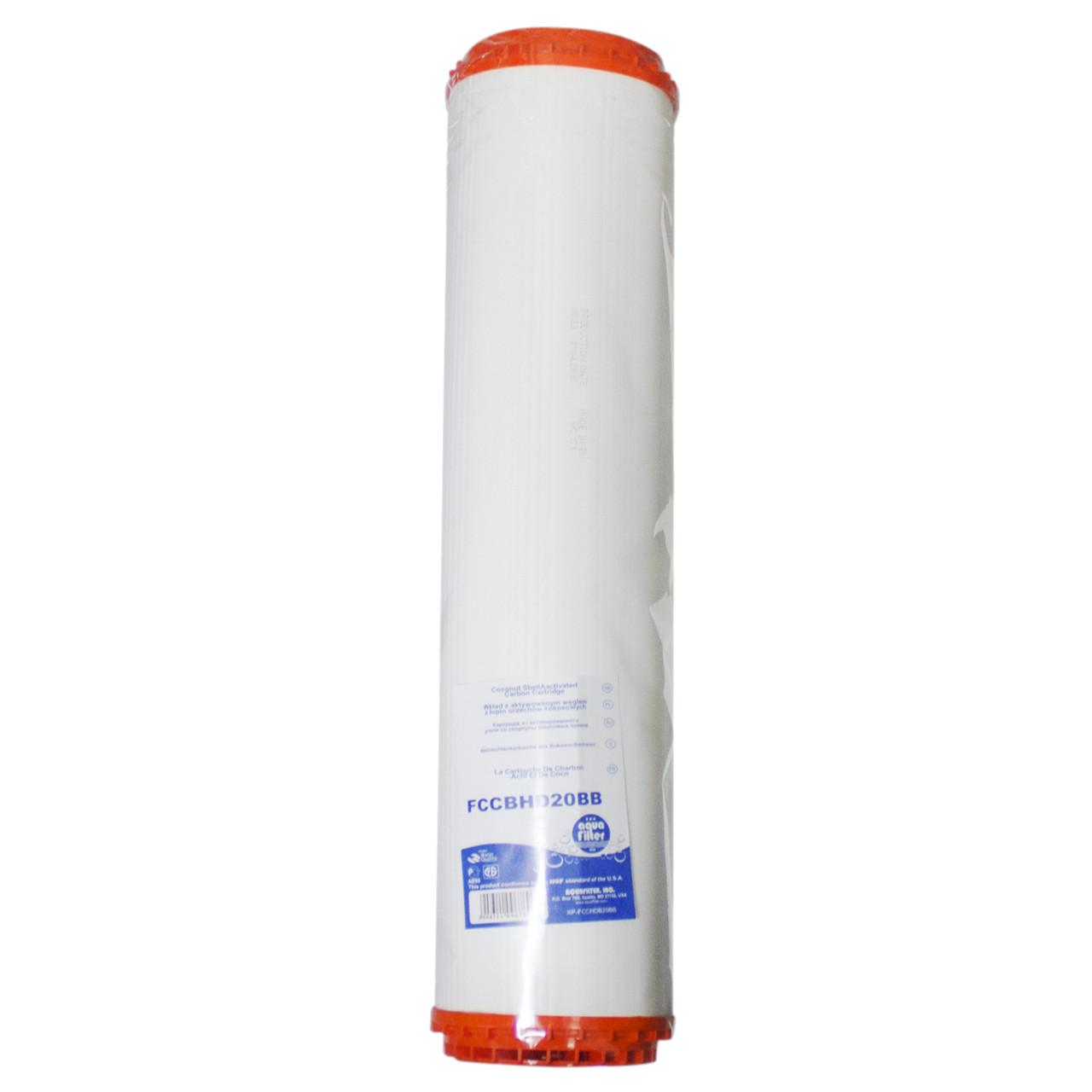 Aquafilter Картридж FCCBHD20BB з активованим вугіллям зі збільшеним ресурсом