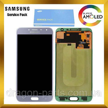 Дисплей Samsung J4 Galaxy J400 2018 Фиолетовый Lavenda GH97-21915C, оригинал, фото 2