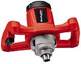 Электрический строительный дрель-миксер для раствора Einhell TC- MX 1200 E 4258545 миксер-мешалка, фото 3