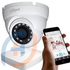 Система видеонаблюдения на 8 камер DAHUA, 2 мп