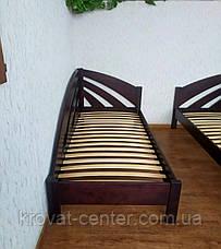 """Детская кровать угловая из дерева """"Радуга"""" (цвет на выбор), фото 2"""