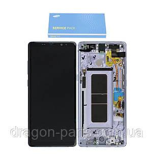 Дисплей Samsung N950 Galaxy Note 8 с сенсором Серый Grey оригинал, GH97-21065C, фото 2