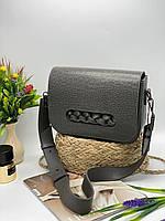 Жіноча сумка на плече 112 сірий Жіночі клатчі Жіночі сумки купити оптом в Україні, фото 1