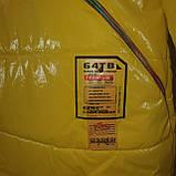 Яскрава стильна підліткова куртка з плащової тканини демисезон на дівчинку з капюшоном весна-осінь від виробника, фото 10