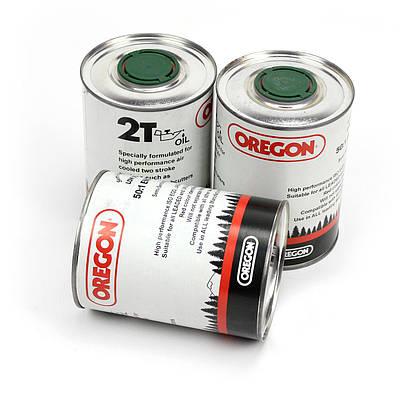Масло моторное Oregon 2T ж/б (1л) для двухтактных двигателей