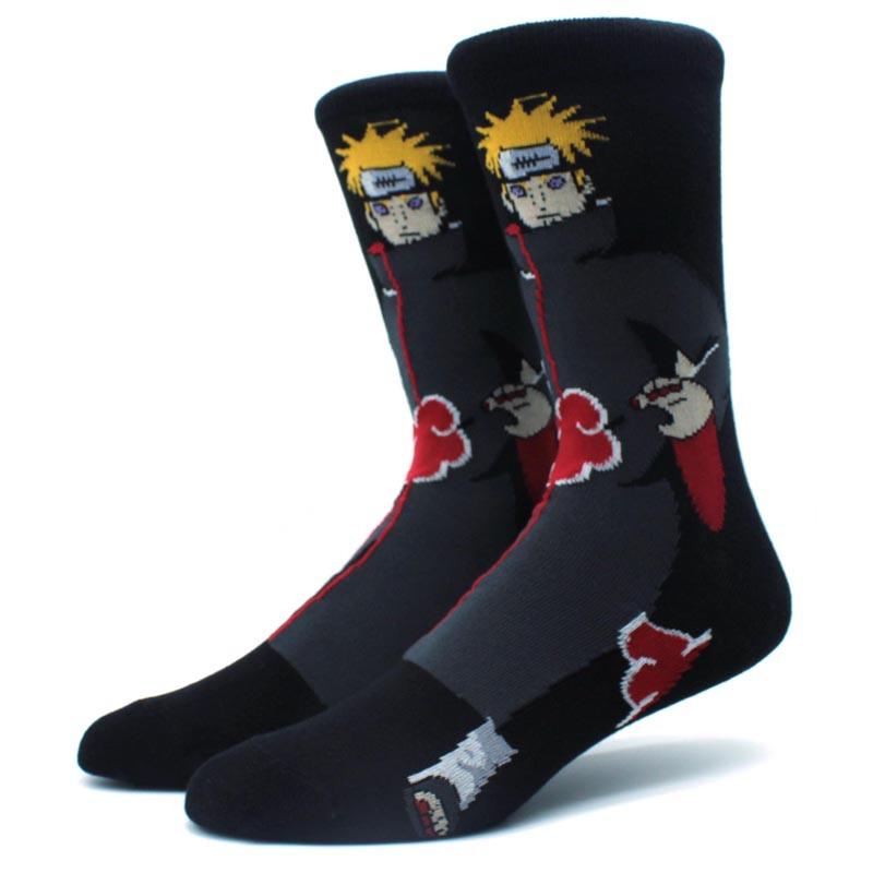Мультяшные высокие мужские носки с принтом Пейн