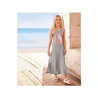 Підлітковий жіночий трикотажний сарафан в підлогу , плаття Pepperts 158\164 зростання, фото 1
