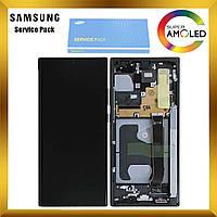 Дисплей Samsung N985 Galaxy Note 20 Ultra с сенсором Черный Black оригинал, GH82-23495A