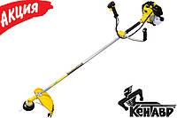 Бензокоса Кентавр МК-5236ТC Садовый бензиновый мототриммер кусторез Мотокоса нож леска для травы
