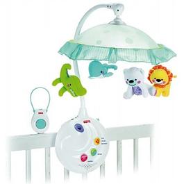 Дитячі мобілі, нічні лампи