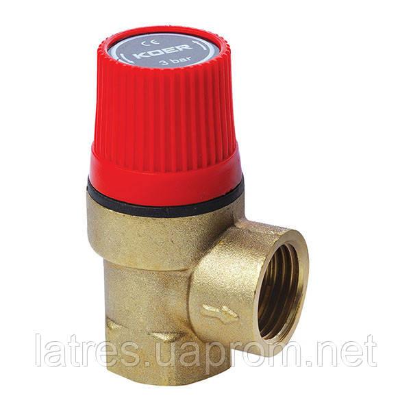 Предохранительный клапан 3BAR KOER 1260