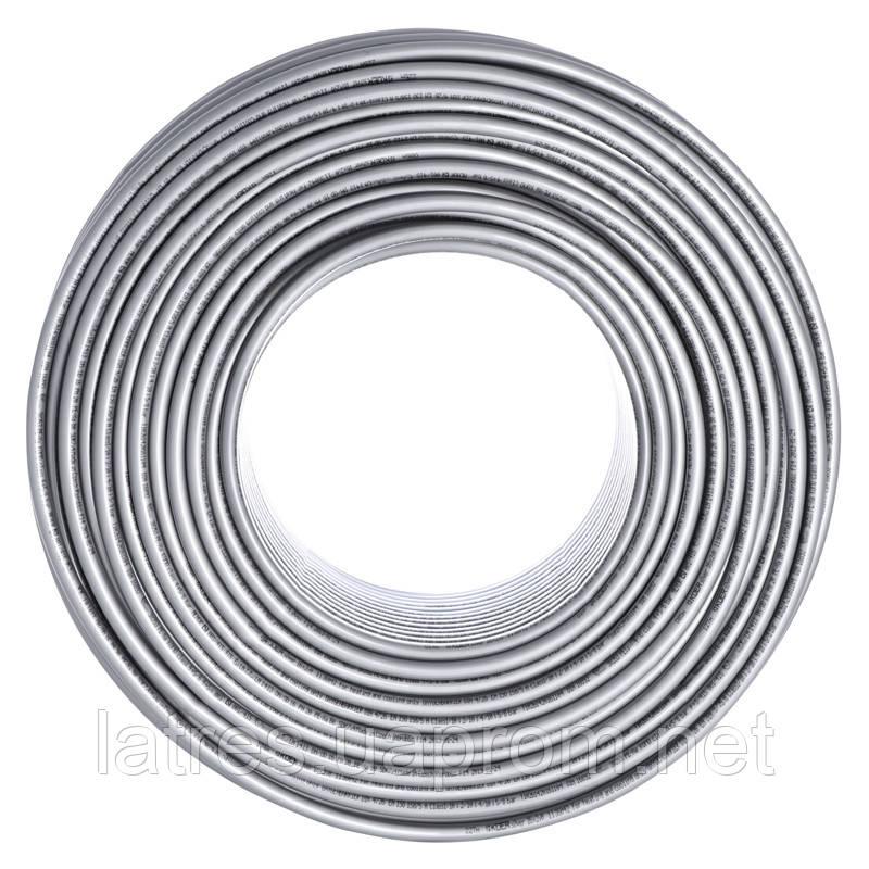 Труба для теплої підлоги з кисневим бар'єром KOER PEX-A EVOH 16*2,0 (SILVER)