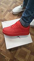 Круті червоні кросівки жіночі, фото 1