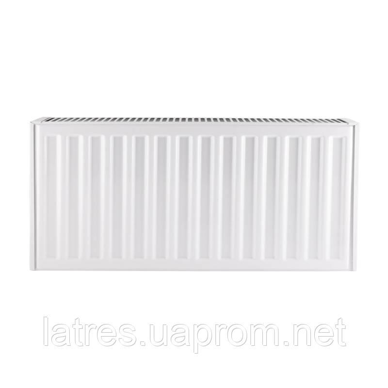 Сталевий радіатор 22-500-1200 KOER (нижнє підключення)
