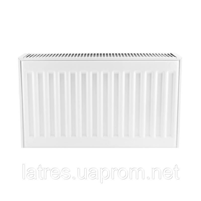 Сталевий радіатор 22-300-400 KOER (нижнє підключення)