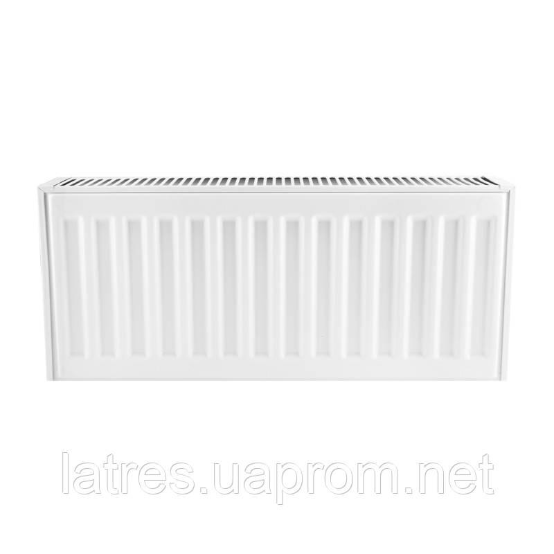 Сталевий радіатор 22-300-1300 KOER (нижнє підключення)