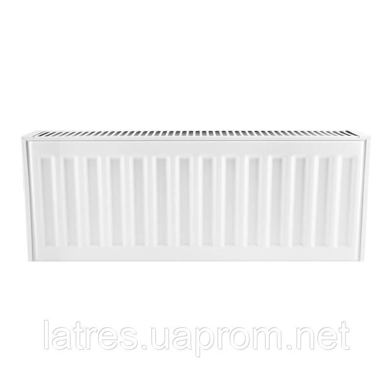 Сталевий радіатор 22-300-2000 KOER (нижнє підключення)