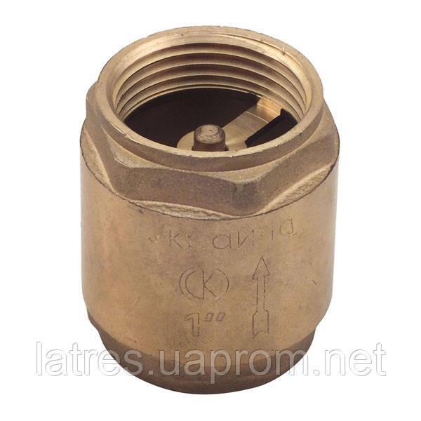 Клапан обратный СК 1 (латунь)