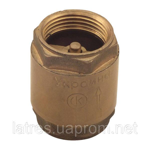 Клапан обратный СК 1/2 (латунь)