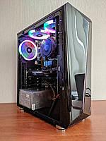 Игровой компьютер AMD FX 8120, Radeon R9 380, ОЗУ 16GB, SSD 120GB, HDD 500 Блок питания 500W