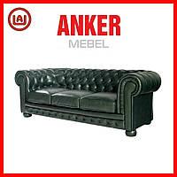 "Кожаный диван ""Chester"" Честер, Честерфилд, фото 1"