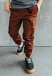 Детские штаны Staff cargo brown коричневый HH0385 146