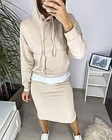 Костюм жіночий спідниця з кофтою, фото 1