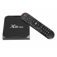 Smart TV (смарт тв) Android приставка Uclan X96 MAX 4K 4/64GB Amlogic S905X3, фото 1