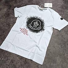 Мужская футболка Moncler CK2226 белая