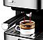 Кавоварка еспресо ріжкова напівавтоматична кавова машина DSP Espresso Coffee Maker 850W, фото 2
