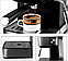 Кавоварка еспресо ріжкова напівавтоматична кавова машина DSP Espresso Coffee Maker 850W, фото 4