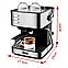 Кавоварка еспресо ріжкова напівавтоматична кавова машина DSP Espresso Coffee Maker 850W, фото 7