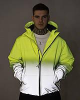 Куртка демисезонная мужская Yard желто-рефлективная