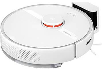 Робот-пылесос с влажной уборкой RoboRock Vacuum Cleaner S6 Pure White