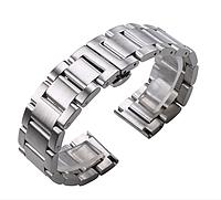 Браслет для годинника з нержавіючої сталі 316L, литий, мат. 21 мм, фото 1