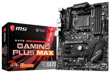 Материнская плата MSI X470 GAMING PLUS MAX