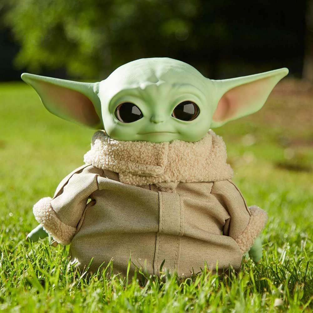 М'яка іграшка Mattel Star Wars Малюк Йода (GWD85)