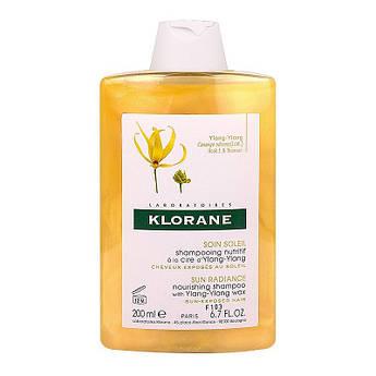 Питательный шампунь с воском иланг-иланга Klorane Nourishing Shampoo with Ylang-Ylang Wax 200 мл