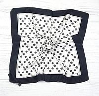 Шовкова хустка Шанті 70*70 см білий