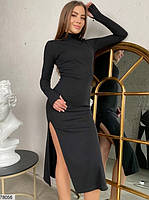 Сексуальное облегающее платье с разрезом с 42 по 46 размер, фото 2