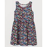 Платье сарафан Цветы H&M на девочку, фото 2