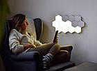 ОПТ Модульная настенная лампа с пультом 3шт Цветная шестигранная, светильник ночник на стену, фото 4