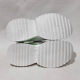 38,39,р. Женские кроссовки на толстой подошве весенние из эко-кожи и текстиля белые, фото 7