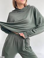Повсякденний трикотажний костюм в спортивному стилі з 42 по 48 розмір, фото 10