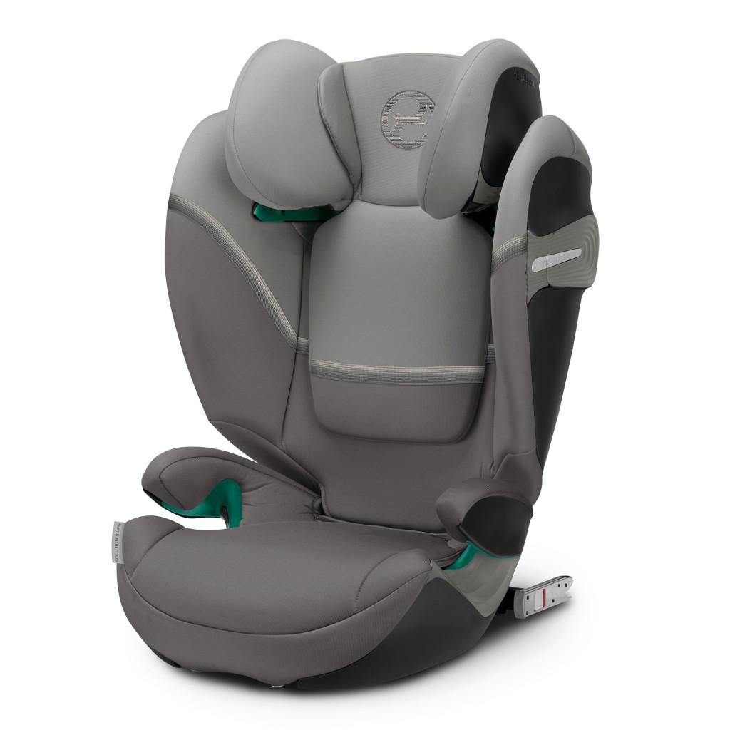 Автокресло Cybex Solution S i-Fix Soho Grey mid grey